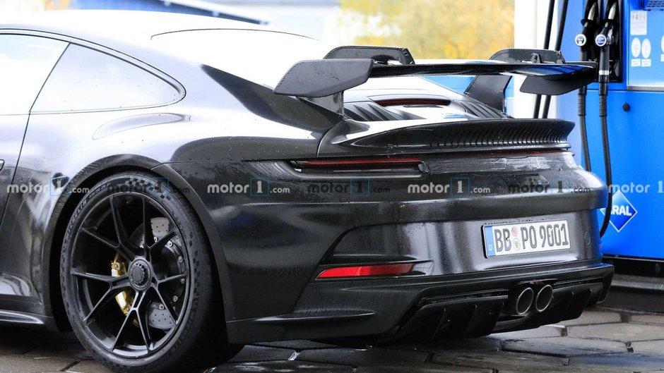 Poze spion Porsche 911 GT3