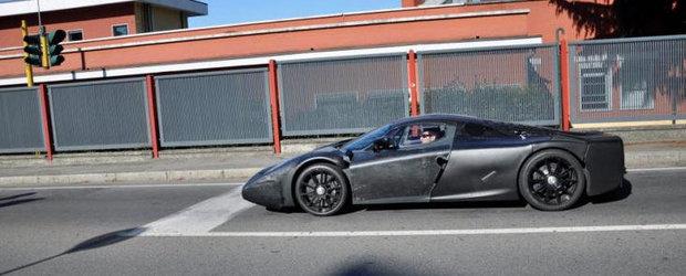 Poze Spion: Succesorul legendarului Enzo Ferrari revine in prim plan!