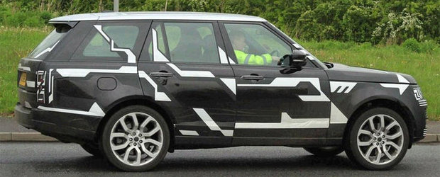Poze Spion: Viitorul Range Rover, surprins in timpul testelor