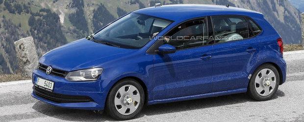Poze Spion: Volkswagen coace un facelift pentru micul Polo