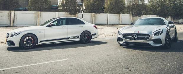 PP-Performance se alatura petrecerii cu un Mercedes C63 AMG S de 610 CP