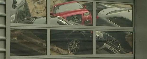 Prabusirea tavanului unui showroom Audi lasa in urma peste 20 de victime