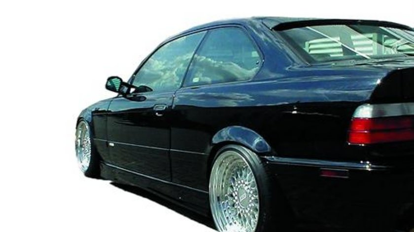 Prag laterale BMW E36 model M3 negru
