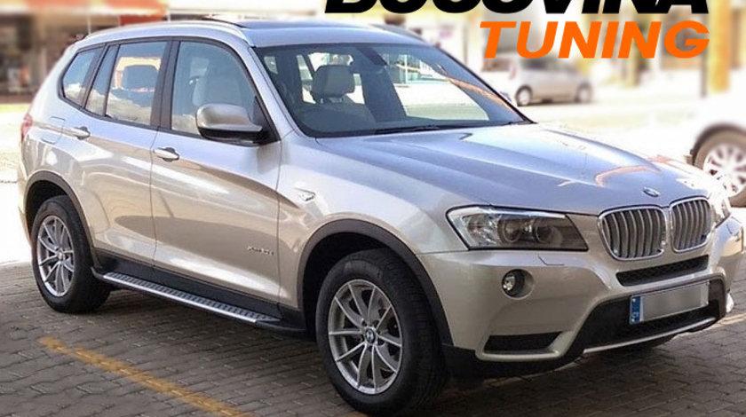 Praguri aluminiu BMW X3 F25 (11-17)