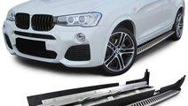 Praguri Aluminiu BMW X4 F24 2014+