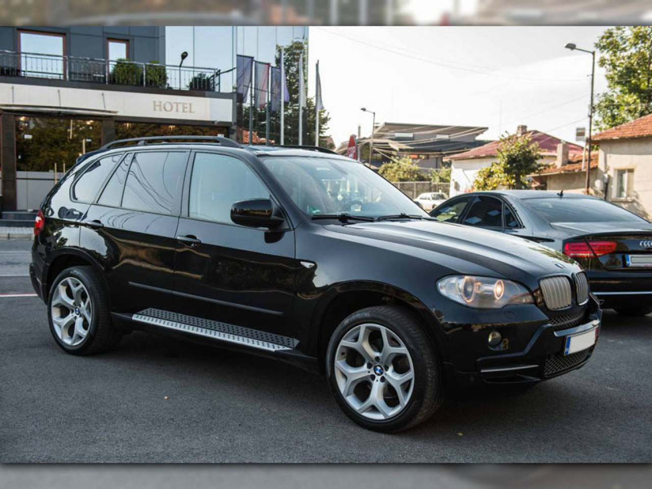 Praguri aluminiu BMW X5 E70 (07-13)