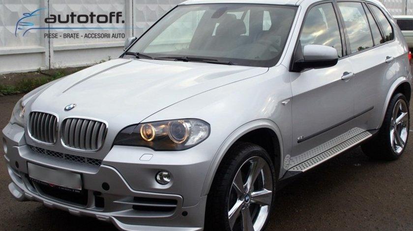 Praguri aluminiu BMW X5 E70 (2007+) - praguri laterale