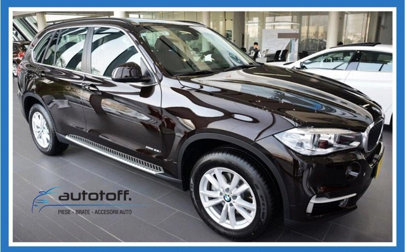 Praguri aluminiu BMW X5 F15 (2013+) trepte laterale