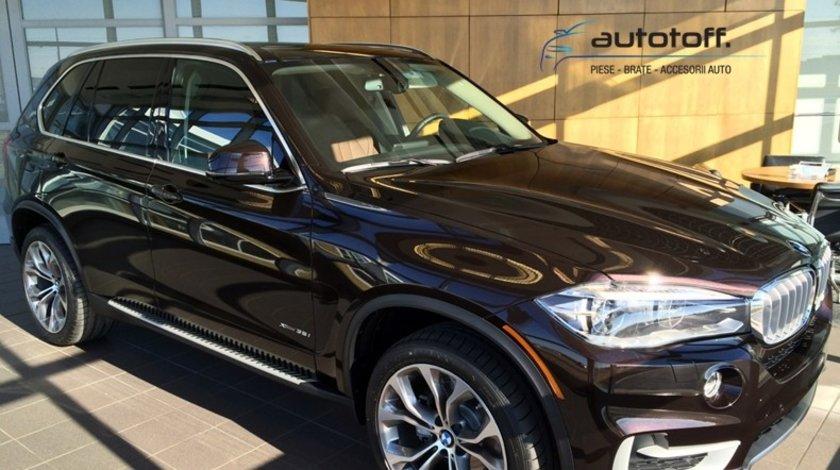 Praguri aluminiu BMW X5 F15 (2013+) - trepte laterale