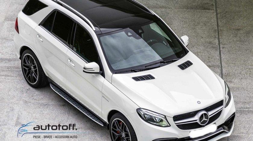 Praguri ALUMINIU Mercedes Benz GLE W166 (2015-2018)