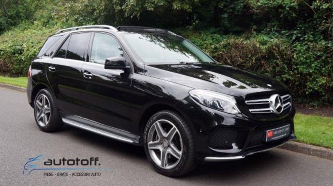 Praguri ALUMINIU Mercedes Benz ML GLE W166 (2011-2018)