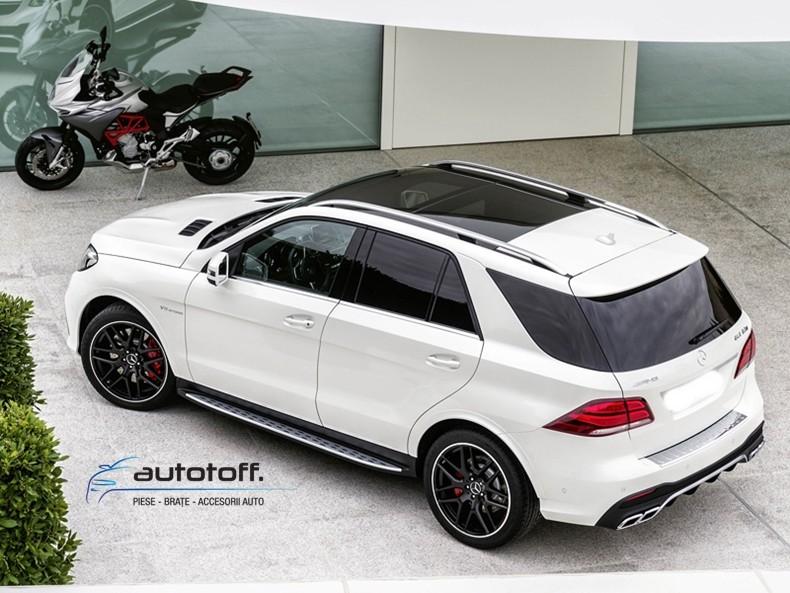 Praguri ALUMINIU Mercedes Benz ML W166 (2011-2014) GLE W166 (2015-2018)