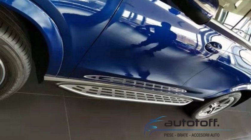 Praguri aluminiu Mercedes GLE Coupe C167 (2020+) trepte laterale