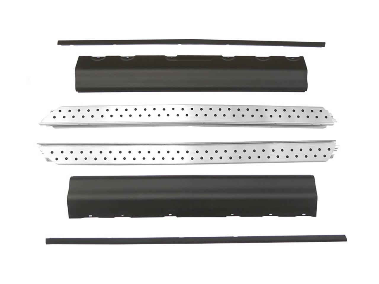 Praguri aluminiu si extensii aripi BMW X5 E53