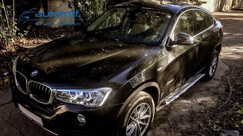 Praguri BMW X4 F26 din aluminiu (2014+)