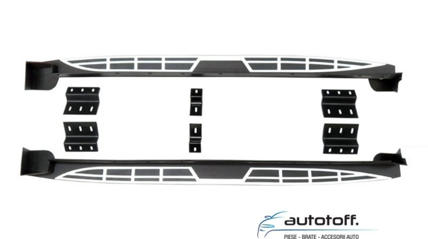 Praguri Hyundai Santa Fe (2013+) din aluminiu