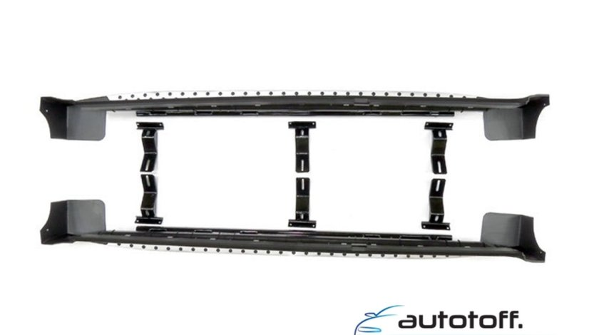 Praguri Hyundai Tucson (04-12) din aluminiu