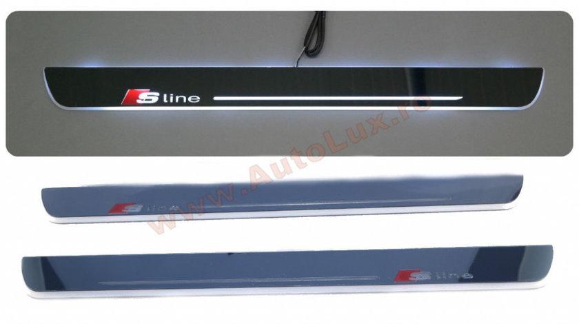 Praguri Iluminate LED Audi A6 S Line