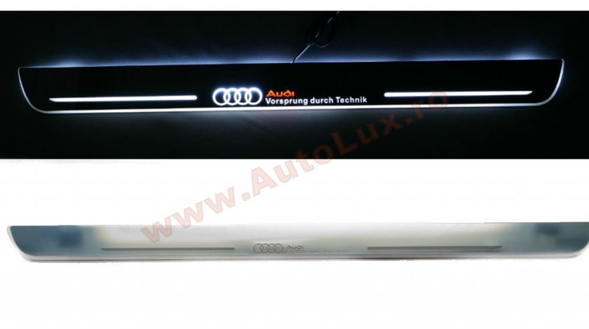 Praguri Iluminate LED Audi Q7