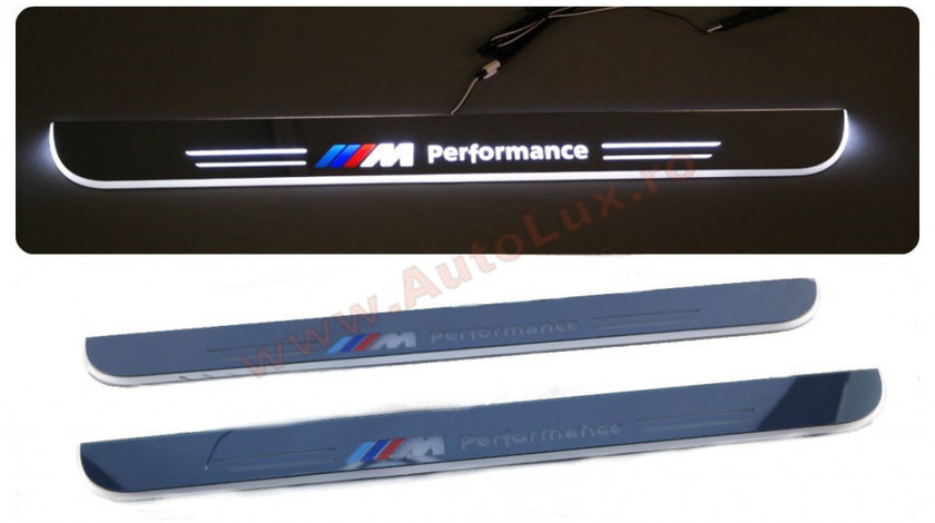 Praguri Iluminate LED BMW M Performance Seria 7 F01
