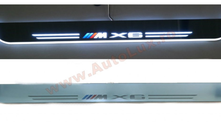 Praguri Iluminate LED BMW M X6 E71