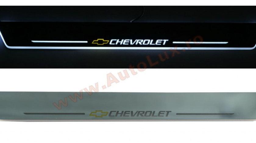 Praguri Iluminate LED Chevrolet (Universale)