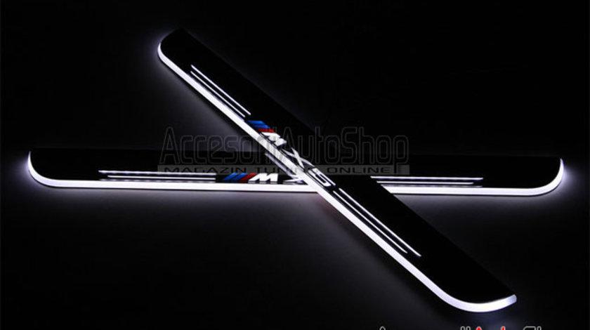 Praguri Interioare Iluminate LED BMW M X5