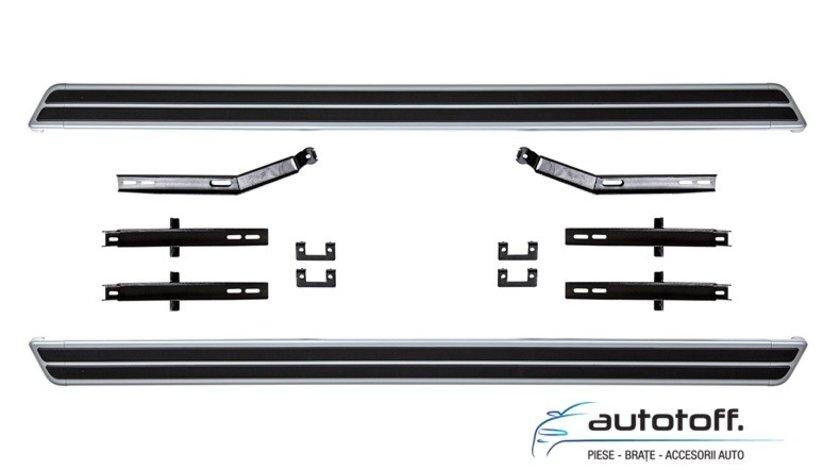 Praguri laterale aluminiu VW Touareg 7p5 (10-18)