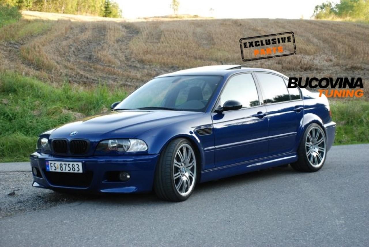 PRAGURI LATERALE M3 BMW SERIA 3 E46 LIMOUSINE / BREAK / COUPE / CABRIO
