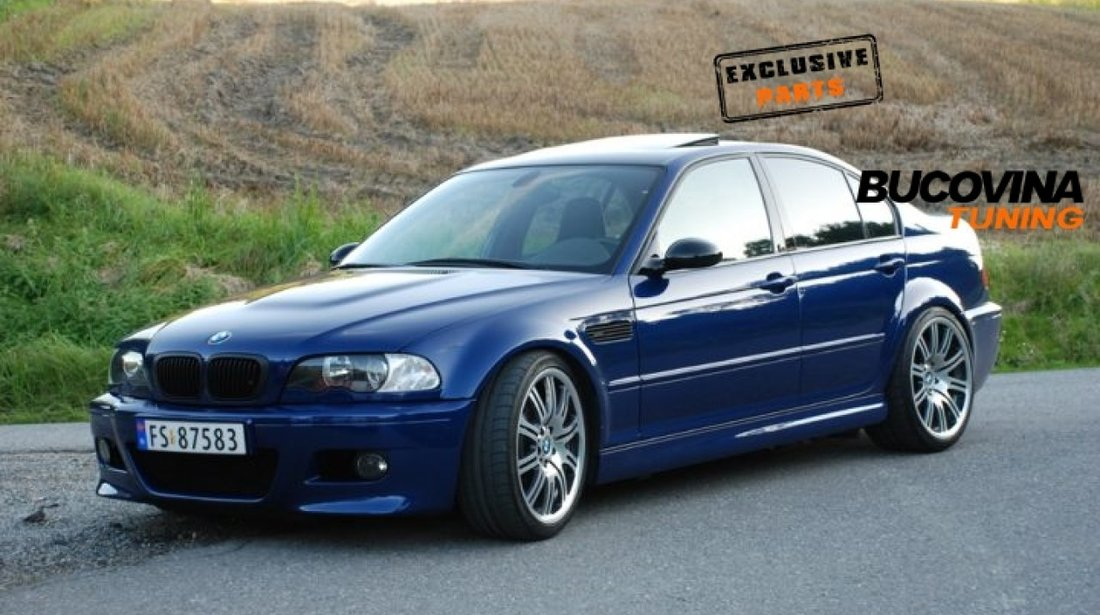 PRAGURI LATERALE M3 BMW SERIA 3 E46 SEDAN / BREAK / COUPE / CABRIO