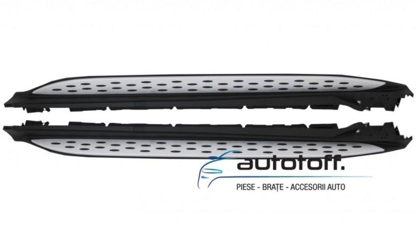 Praguri Laterale Mercedes GLC X253 si GLC COUPE C253 din aluminiu (2015+)