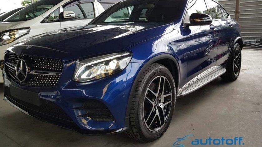 Praguri Laterale Mercedes GLC X253 si GLC COUPE C253 din aluminiu
