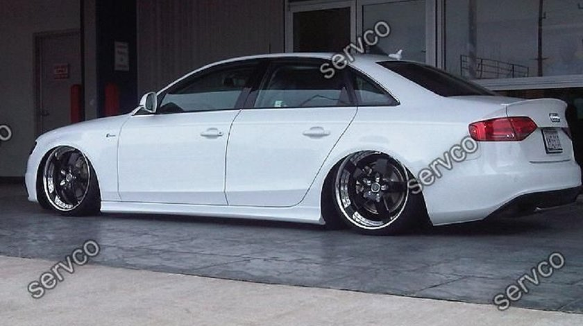 Praguri laterale sport tuning Audi A4 B8 Sline RS4 S4 Votex 2008-2015 ver2