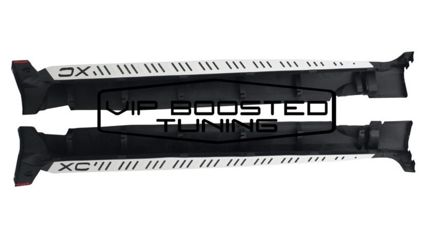Praguri Laterale Trepte aluminiu VOLVO XC60 (2008-2013) R Design