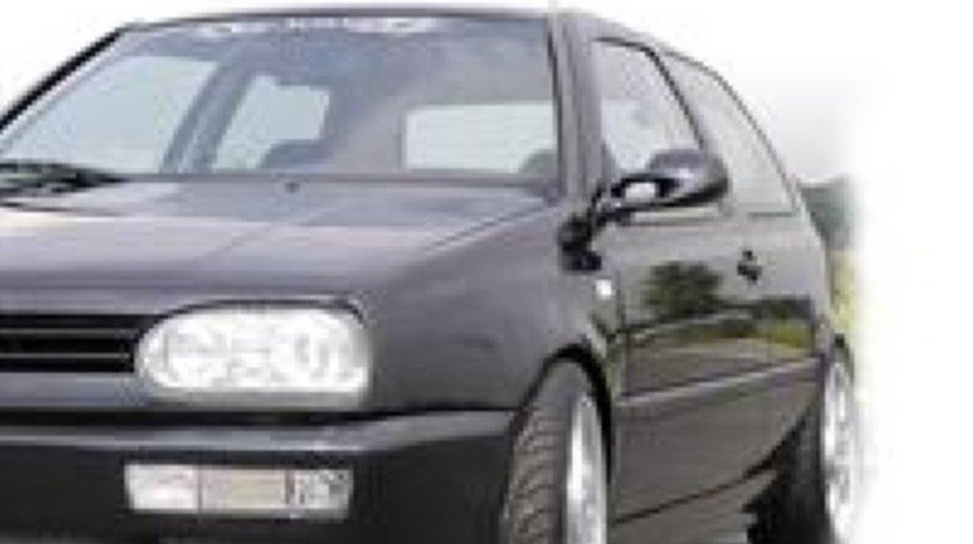 Praguri laterale VW Golf 3 negru plastic