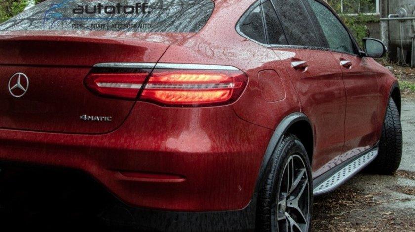 Praguri Mercedes Benz GLC Coupe C253 (2015+) din aluminiu