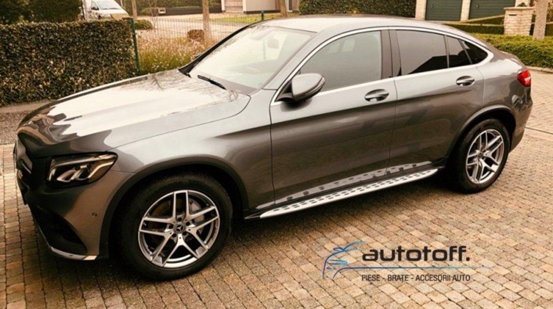 Praguri Mercedes Benz GLC X253 si GLC Coupe C253 (15-21) din aluminiu