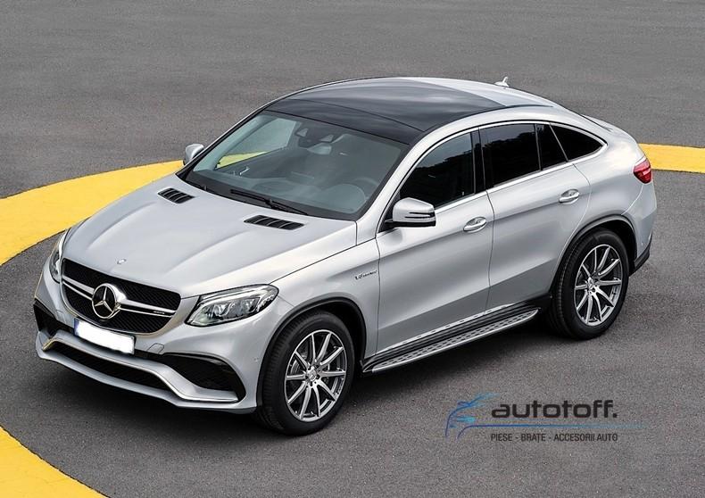 Praguri Mercedes Benz GLE Coupe C292 (15-18) din aluminiu