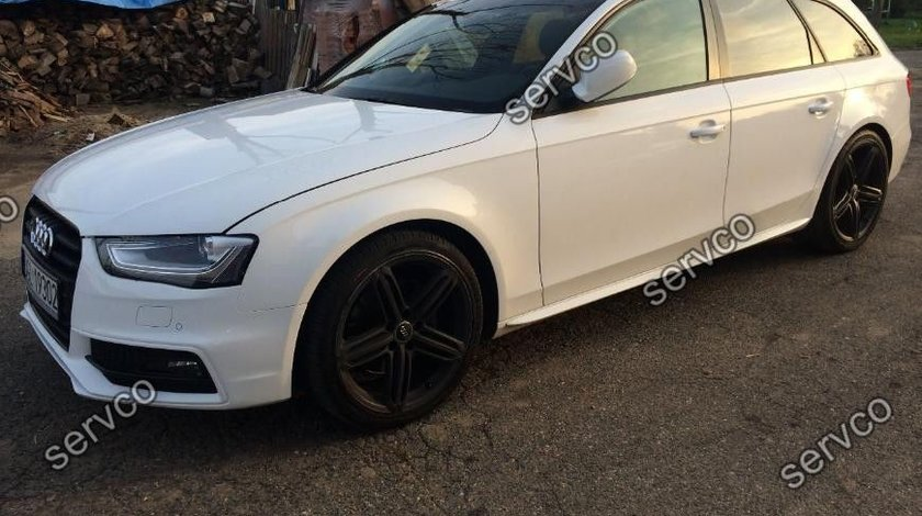 Praguri ornamente laterale Sline Audi A4 B8 S4 RS4 S-line 2008-2015 ver1