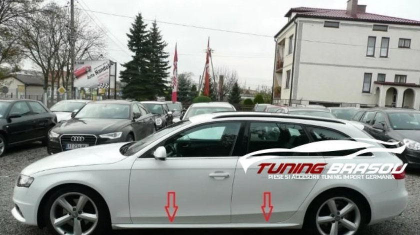 Praguri ornamente laterale Sline Audi A4 B8 S4 RS4 S-line 2008-2015
