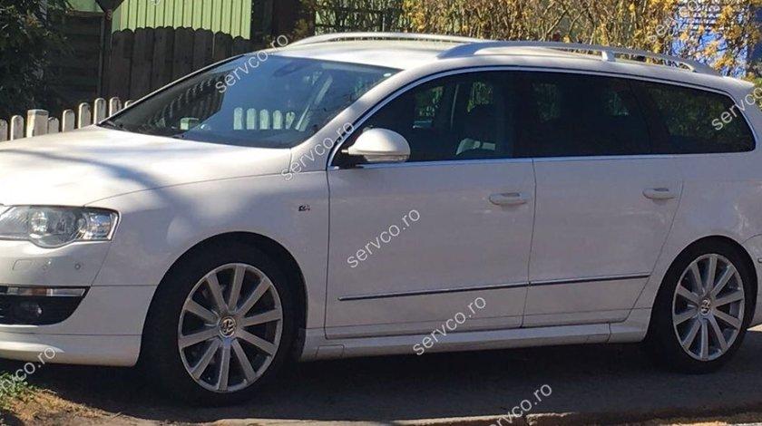 Praguri ornamente laterale tuning sport VW Passat B6 3C Rline R36 2005-2010 v3