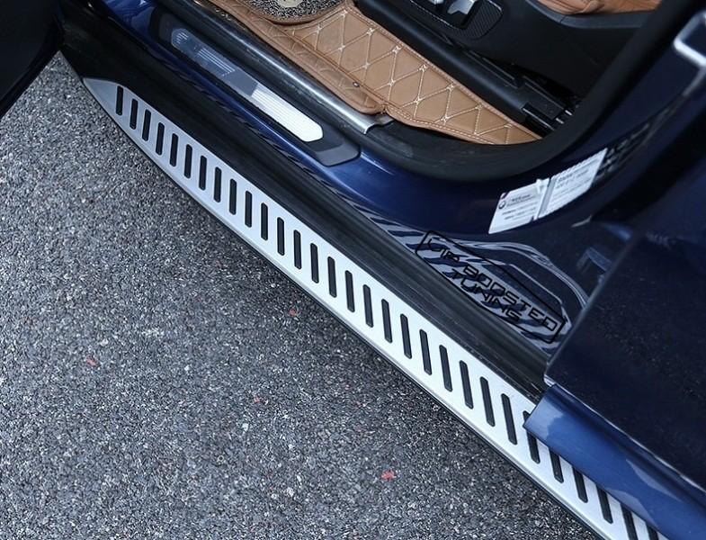Praguri Trepte Laterale aluminiu BMW  X4 G02 (2018+)