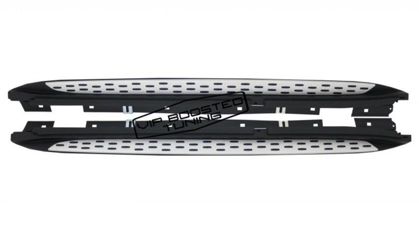Praguri  Trepte Laterale aluminiu MERCEDES X156 GLA Class (2014+)