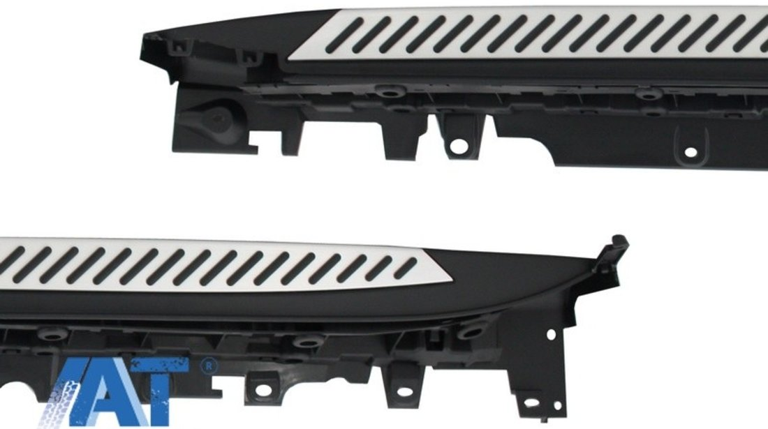 Praguri Trepte Laterale SUV compatibil cu BMW X5 F15 (2014-2018) X6 F16 (2015+)