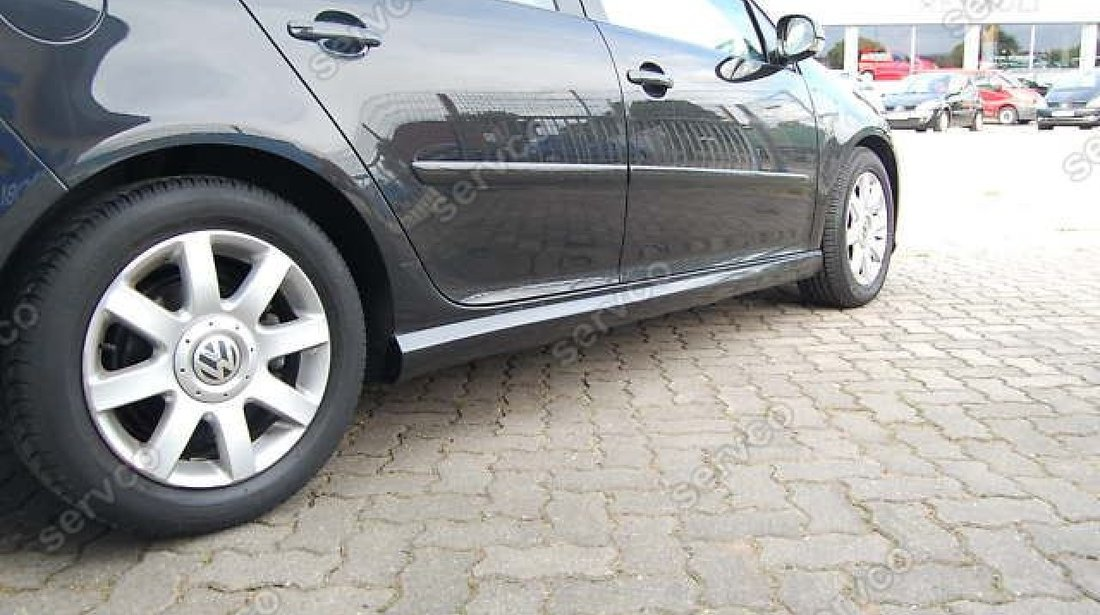 Praguri tuning sport VW Golf 5 Rline Young Edition 2003-2009 ver1