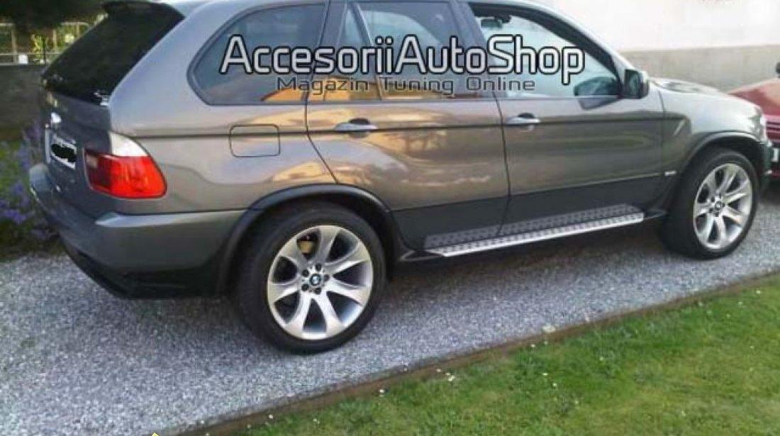 Praguri X5 E53 Aluminiu Evazari aripi BMW X5 E53 430 EURO