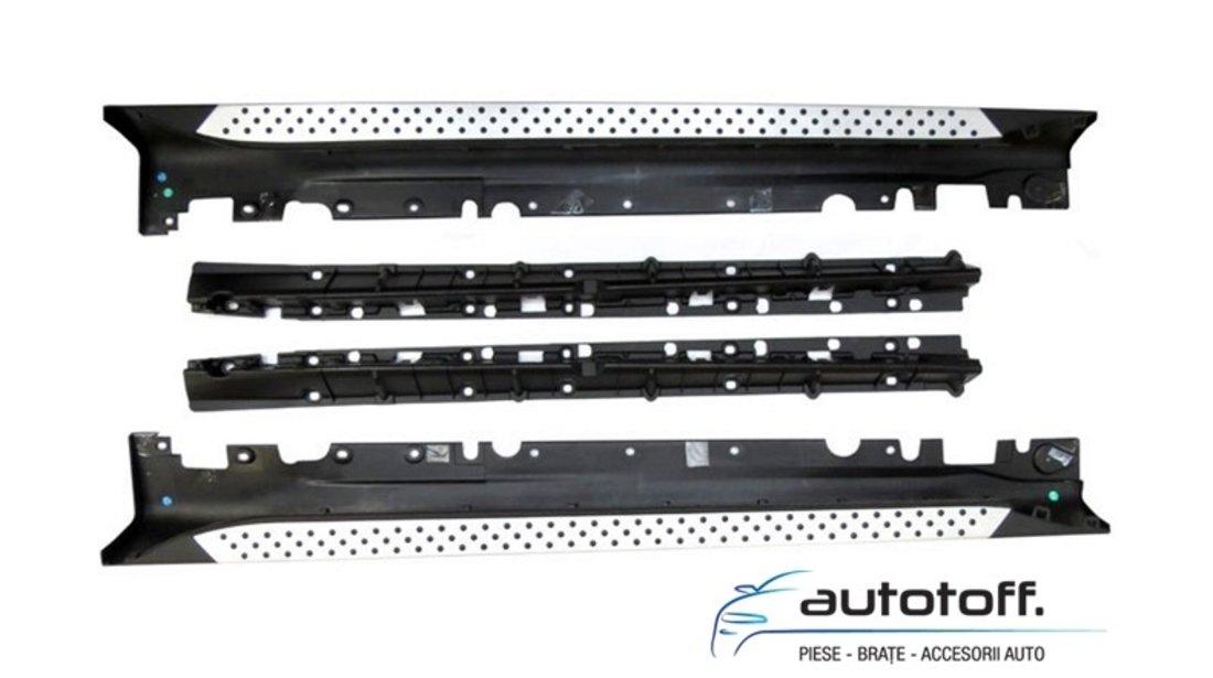 Praguri X6 E71 (2008-2015) - praguri laterale aluminiu