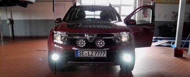 Prea... exagerat? Dacia Duster primeste un tuning snobistic de la o companie germana