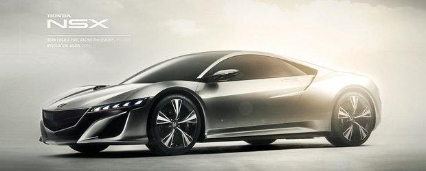 Precomenzi in Anglia pentru supercarul Honda NSX
