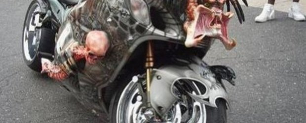 Predator Bike - un extraterestru incarnat intr-o Hayabusa